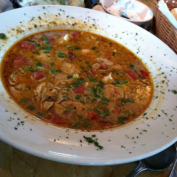 Shrimp and Chicken Gumbo @ Cheesecake Factory