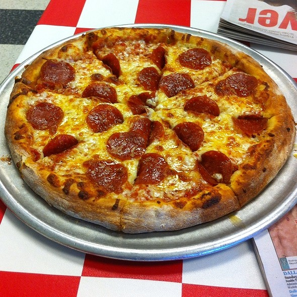 Pepperoni Pizza @ Carmine's Pizzeria