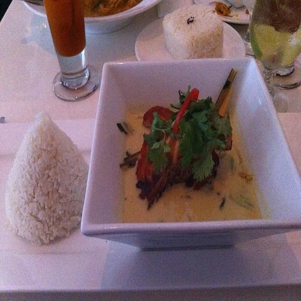 Chaat Salad with Salmon @ Qi