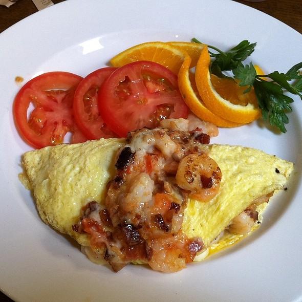 Rock Shrimp Omelette