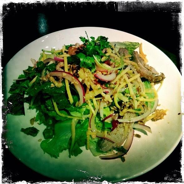 Crispy Duck Yum Salad @ Leng Thai