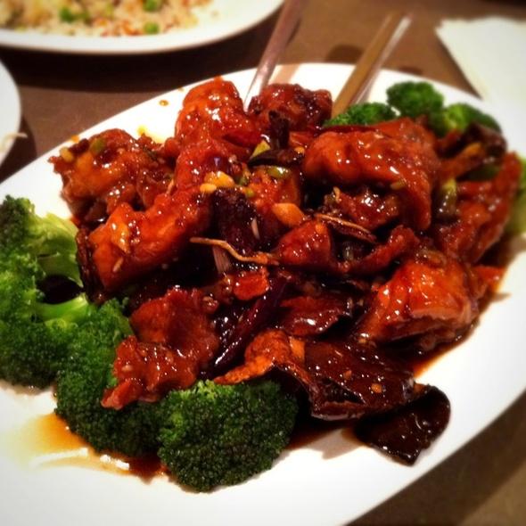 Orange Chicken @ First Chinese B-B-Q