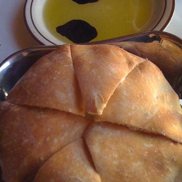 Freshly baked bread - Brunello Trattoria, Culver City, CA