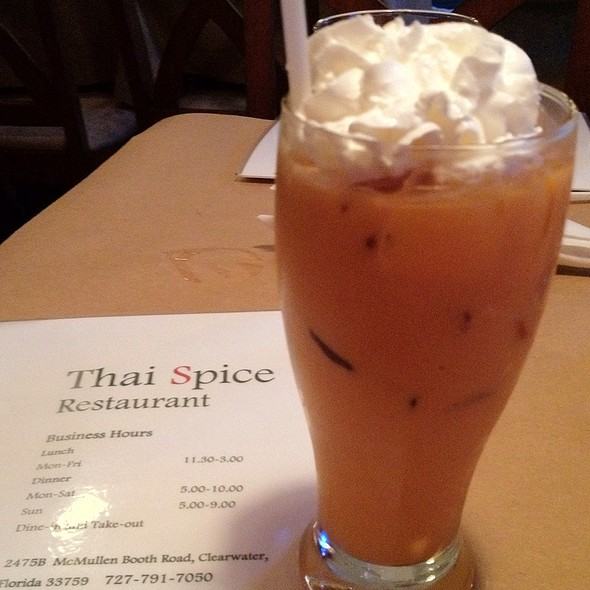Thai Ice Tea @ Thai Spice