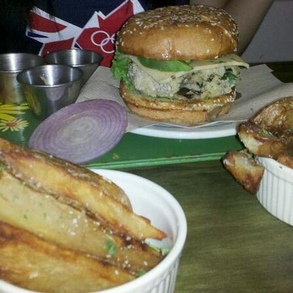 Veggie Burger @ Grange Hall Burger Bar