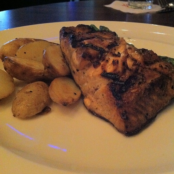 Simply Grilled Salmon @ Palomino