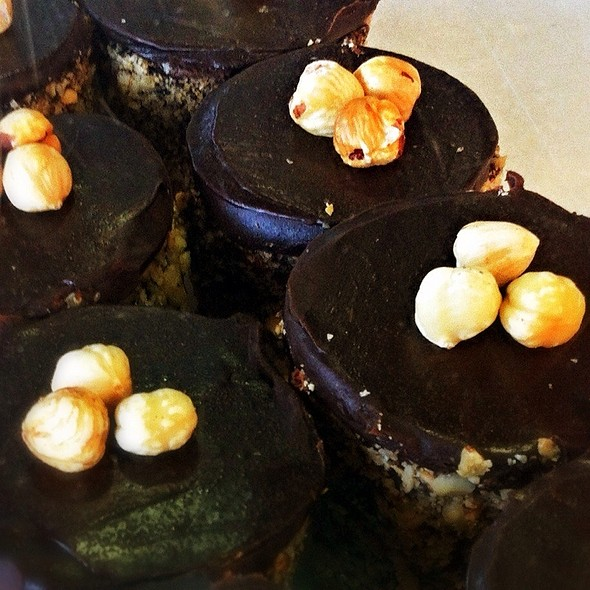 Chocolate Hazelnut Cake @ Takapuna Beach Cafe