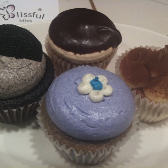 Cupcakes @ Blissful Bites