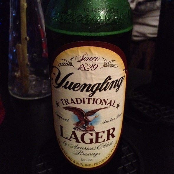 Yuengling Lager @ Home