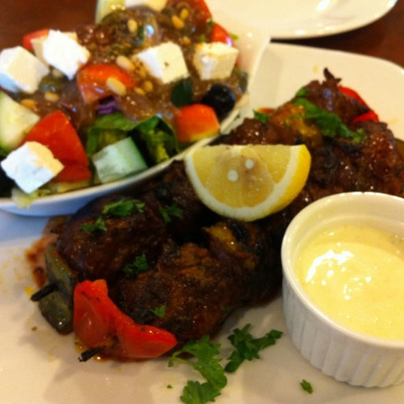 Steak Kebab @ Cyma