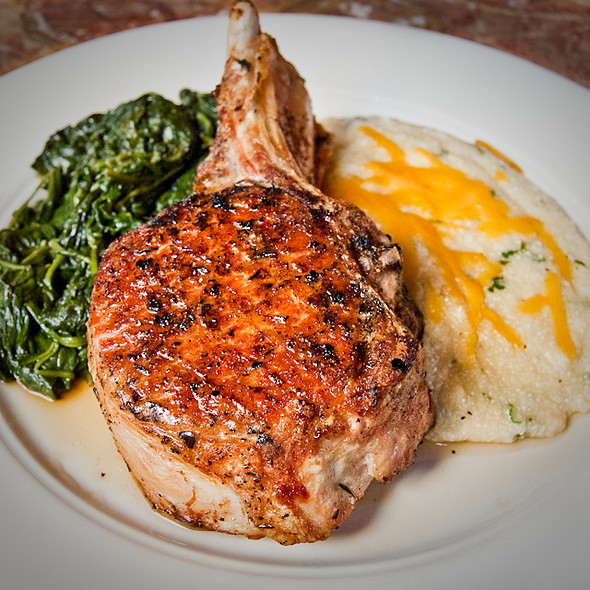 Grilled Pork Chop @ Icon Grill