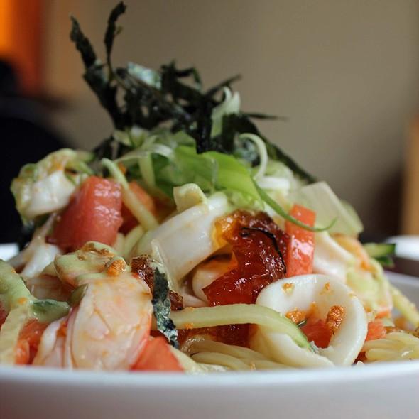 Cold Seafood Ramen @ Hinomaru Ramen