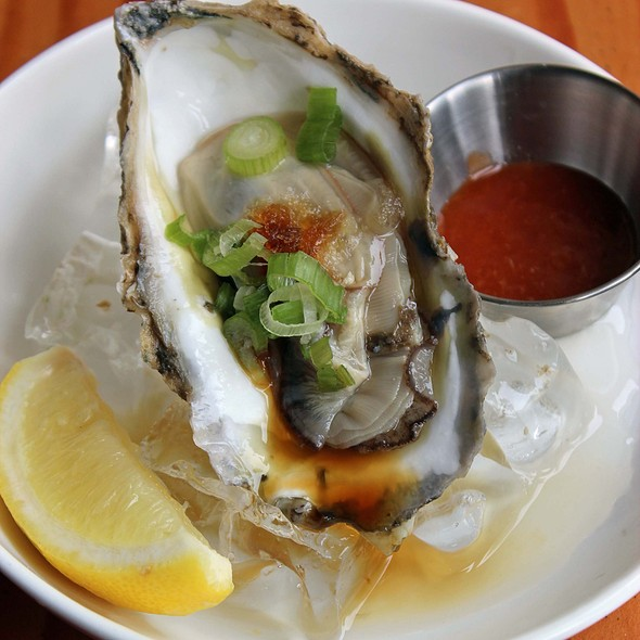 Long Island Oysters @ Hinomaru Ramen