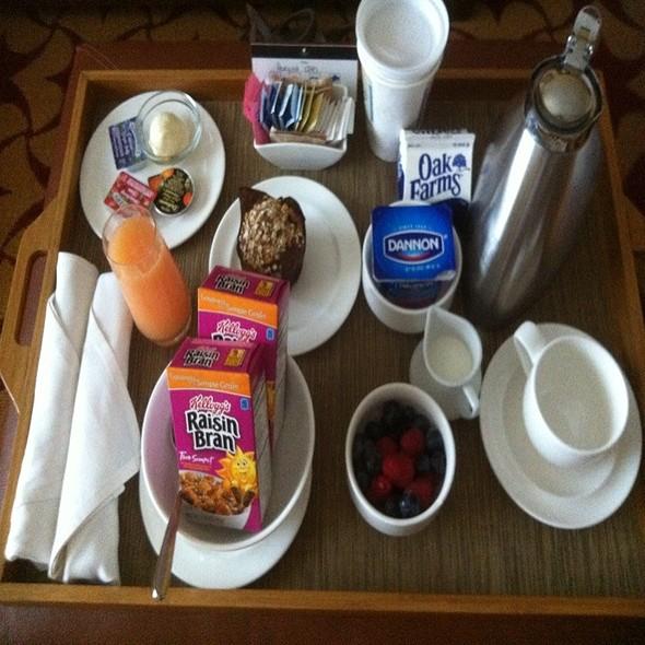 Breakfast in Bed - JW Marriott San Antonio - High Velocity, San Antonio, TX