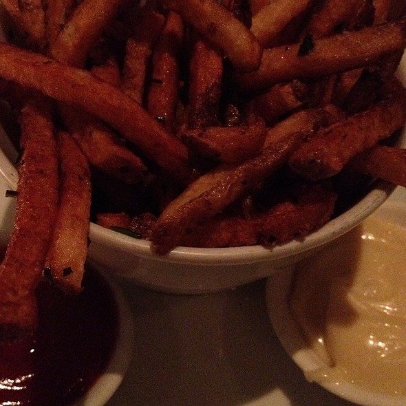 Frites With Aioli - Sassafraz, Toronto, ON
