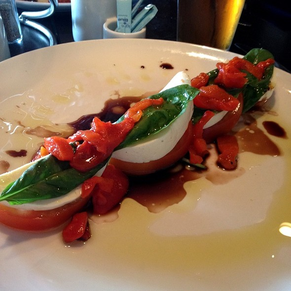 Caprese Salad @ Tony C's Coal Fired Pizza