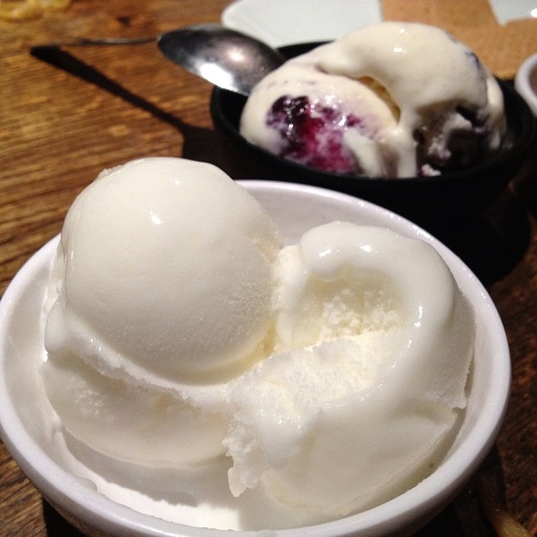 Lychee Ice Cream @ Gyu-Kaku Restaurant