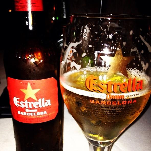 Estrella Damm Beer @ Restaurante Eñe