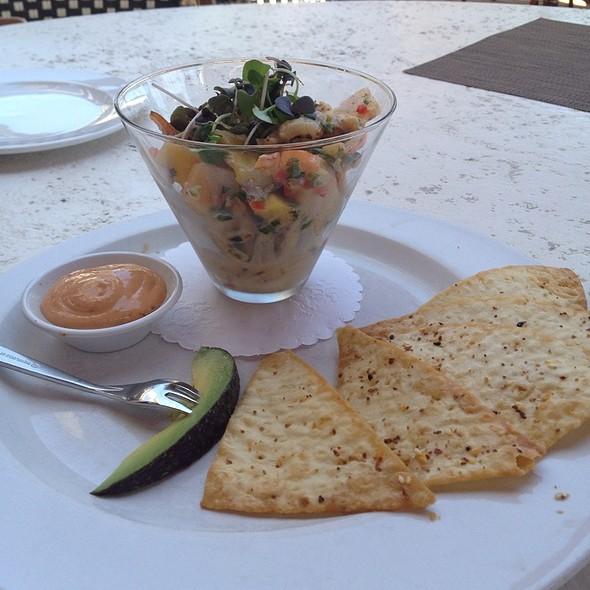 Shrimp, Scallop, Pineapple Ceviche - Seasons 52 - Buckhead, Atlanta, GA