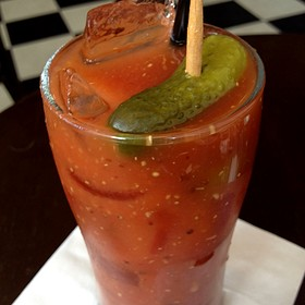 Bloody Mary - Westport Cafe & Bar, Kansas City, MO