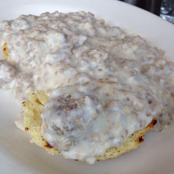 Biscuits and Gravy - Westport Cafe & Bar, Kansas City, MO