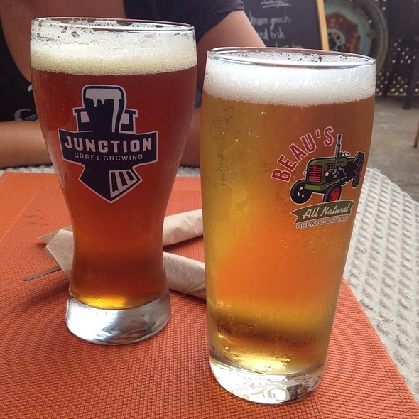 Junction Conductors Ale And A Beau's Lugtred Lager - FARMHOUSE Tavern, Toronto, ON