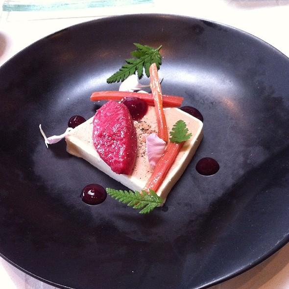 Foie gras pate - West Restaurant, Vancouver, BC