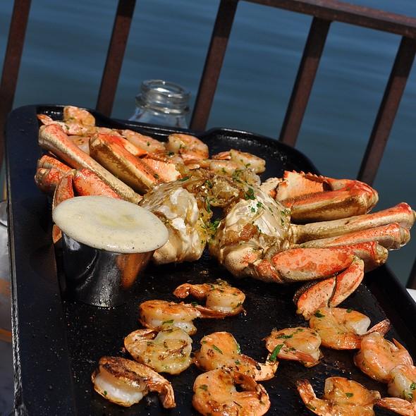 Double Shrimp & Double Crab Skillet @ Salito's Crab House & Prime Rib