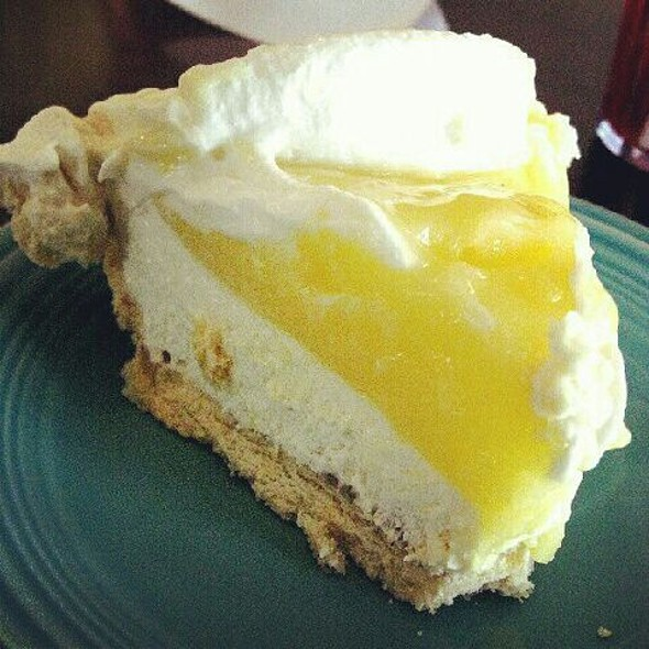 Lemon Cream Tart @ Jongewaard's Bake & Broil
