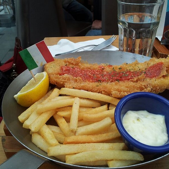 Italian Fish And Chips @ Fish And Co jurong Point