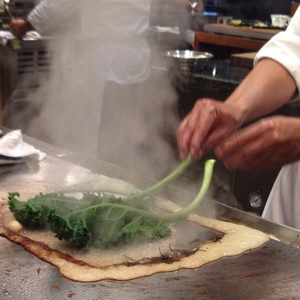 Teppan Grilled Kale - Tetsu - Aria, Las Vegas, NV