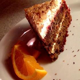 Beetroot Cake - Blue Plate Diner