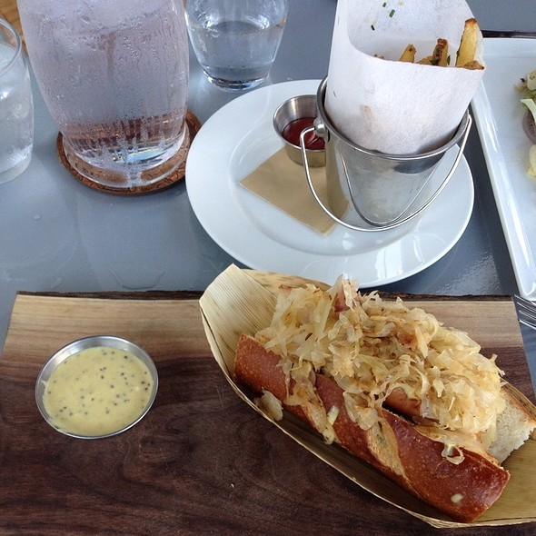 Smoked Bratwurst - Harlan Social, Stamford, CT