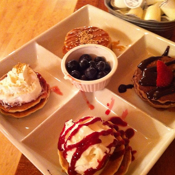 Olympic Pancake Flight @ Orange Brunch