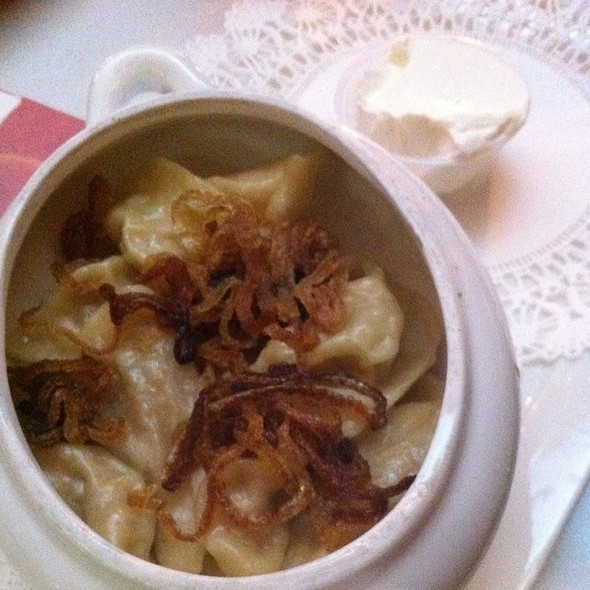 Vareniki With Potatoes @ Tatiana Restaurant