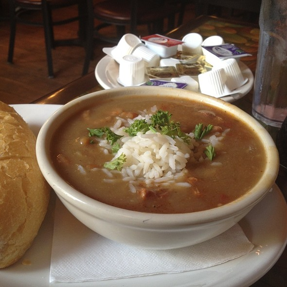Seafood & Andouille Sausage Gumbo at The Old Coffee Pot Restaurant