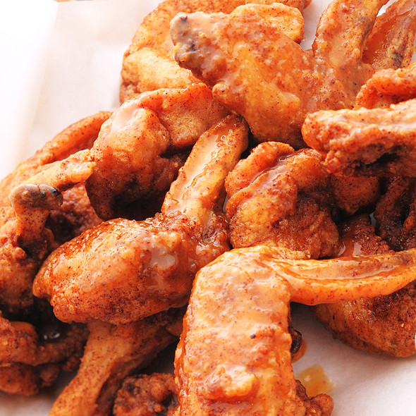 Mango-Glazed Habanero Chicken Wings