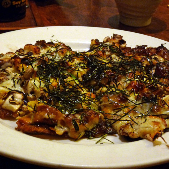 unagi pizza