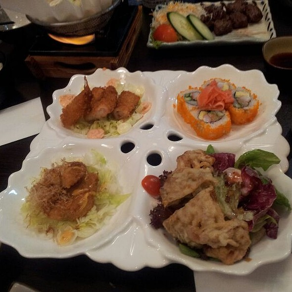 assorted appetizer @ Megumi Japanese Restaurant (Sunset Way)