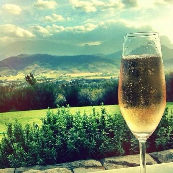 Sparkling Wine @ Dieu Donné Restaurant