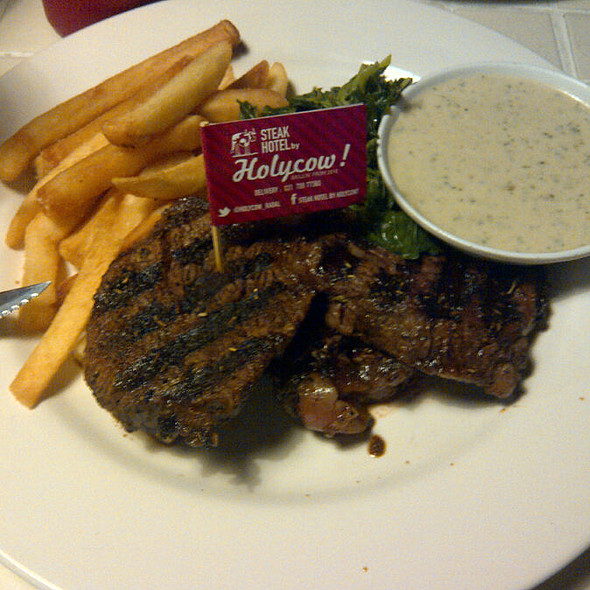 Tenderloin Steak With Mushroom Sauce
