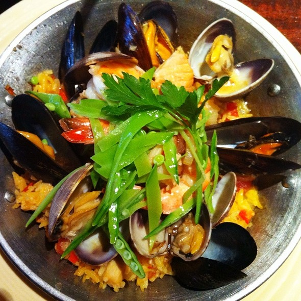 Seafood Paella - Margaux, Seattle, WA
