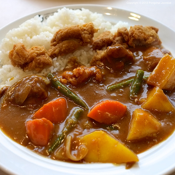 Fried Chicken Curry Rice With Vegetables @ Curry House Coco Ichibanya @ Paradise Park