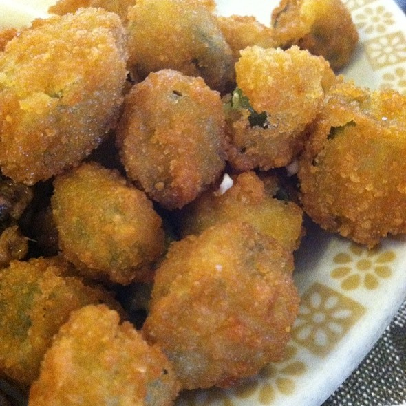 Fried Okra @ Yoder's Restaurant