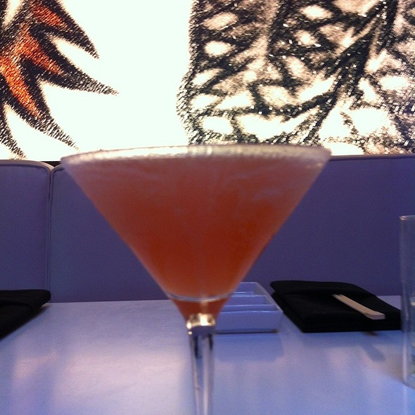 Burning Mandarin Martini @ Katsuya By Starck - San Diego