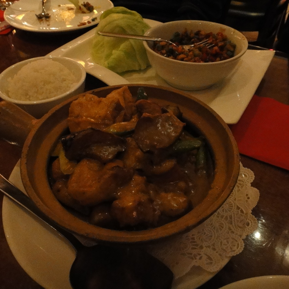 Curry @ Tengda Asian Bistro