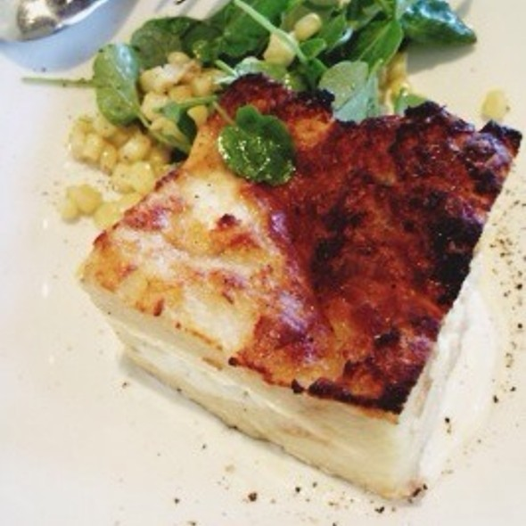 Goat Cheese Bread Pudding @ Nopa