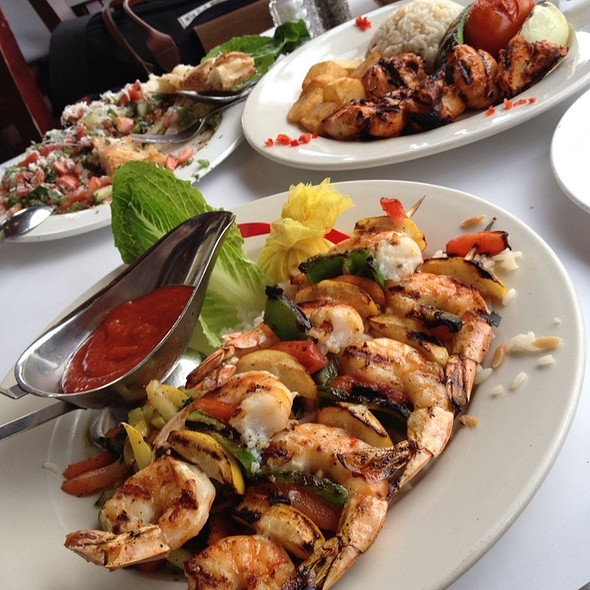 Grilled Shrimp at Liman Restaurant