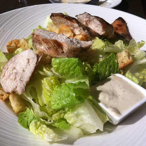 Grilled Chicken Caeser Salad - Latitude 41, Mystic, CT