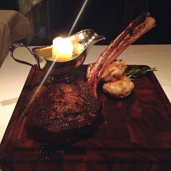 Tomahawk Steak - Bull & Bear Steakhouse, Orlando, FL